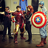 The Avengers Group Costume
