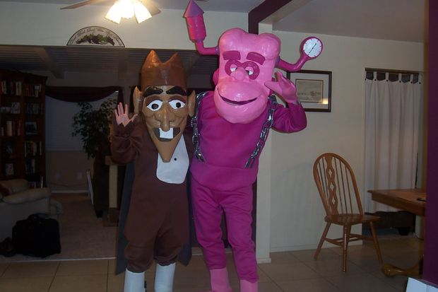 Franken Berry and Count Chocula