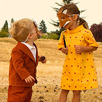 Mr. and Mrs. Fox Costumes