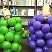 Bunch of Grapes Halloween Costumes