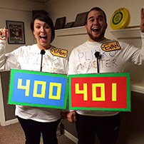 Price is Right Couples Costume