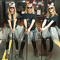 Three Blind Mice Group Costume