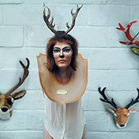 Mounted Deer Head Halloween Costume