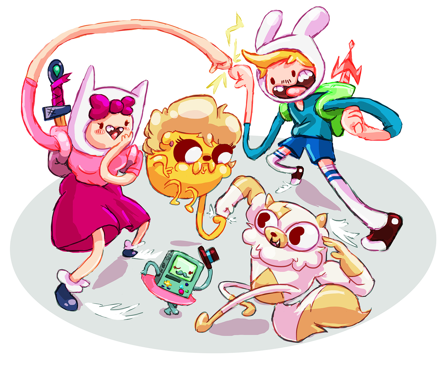 Gender Swap Adventure Time