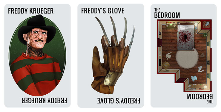 Freddy Krueger Card Set