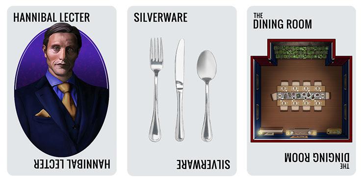 Hannibal Lecter Card Set