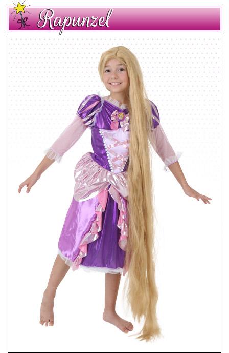 Girls Rapenzel Costume