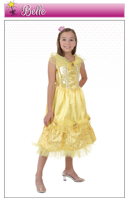 Girls Belle Costume