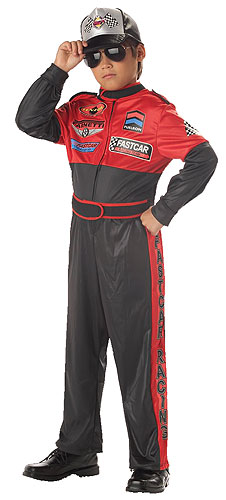 child race car driver halloween costumes