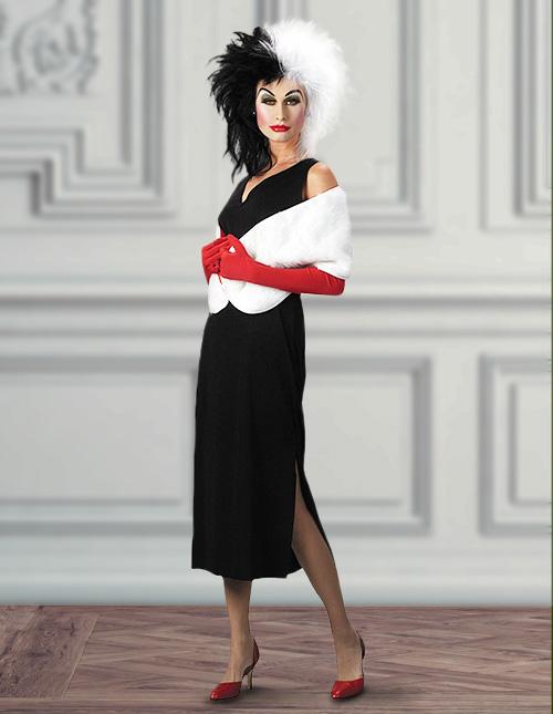 Cruella De Vil Halloween Costumes