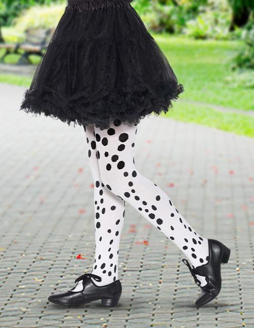 Dalmatian Print Tights