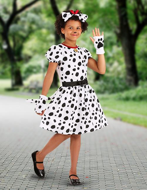 Girl's Dalmatian Costumes