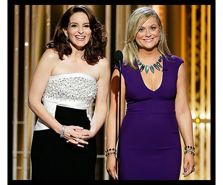 Tina Fey and Amy Poehler Host the 2015 Golden Globes