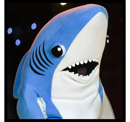 Left Shark Steals the Super Bowl Halftime Show