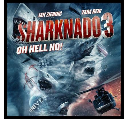Sharknado 3: Oh Hell No! Gets Poor Reviews
