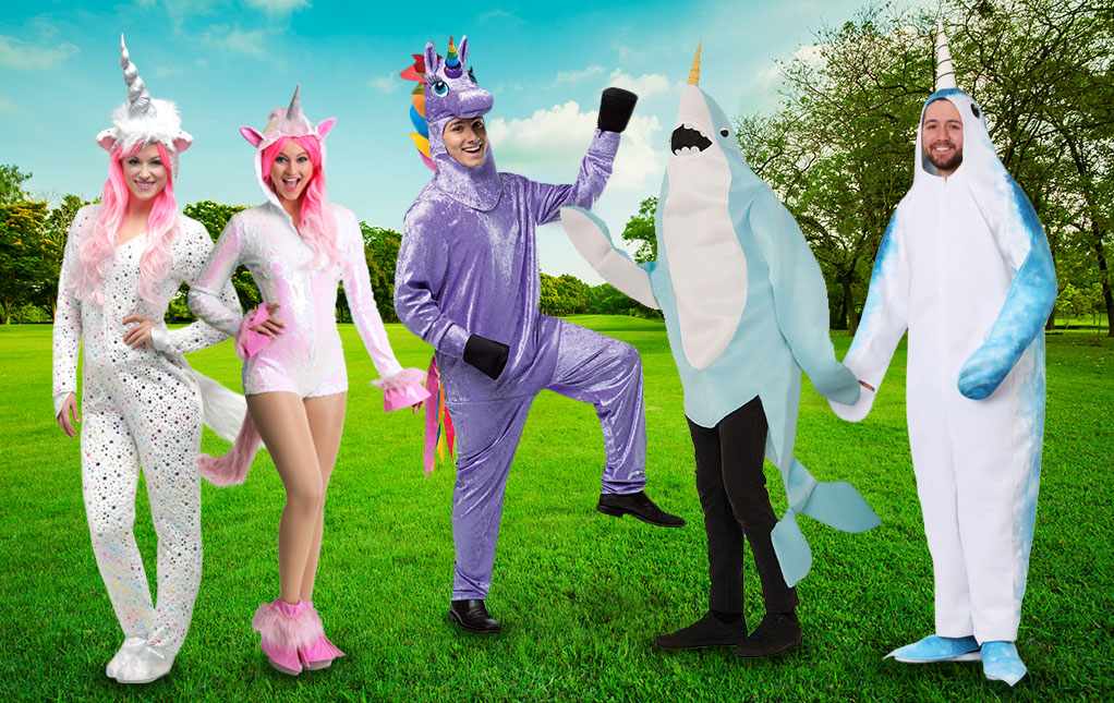 Narwhal and Unicorn Costumes