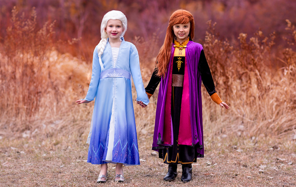 Anna and Elsa Costumes