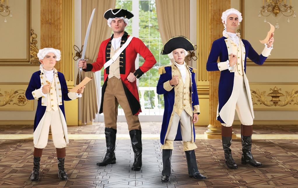 Hamilton Costumes