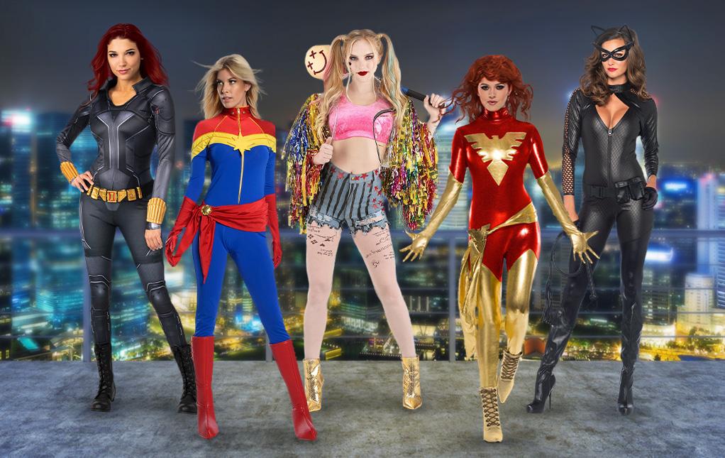 Superhero Costumes for Women
