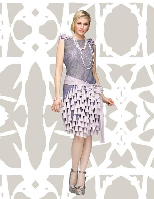 Daisy Bluebells Dress