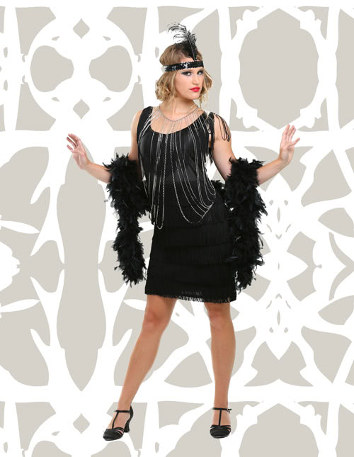 45ee3e7d62c5d Flapper and Gangster 20s Costumes For Halloween
