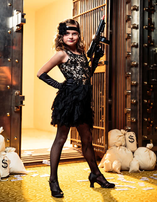 Flapper Girls' Costume
