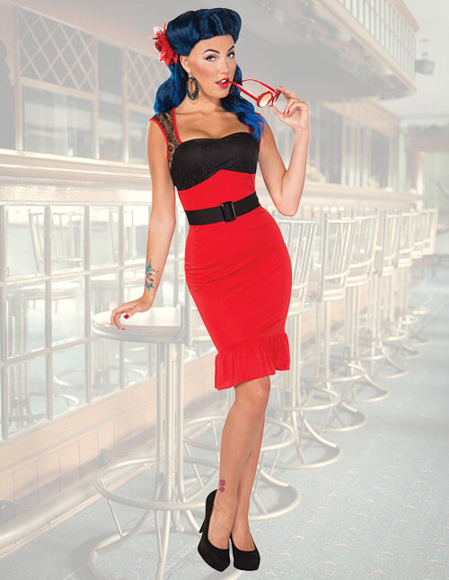 Rockabilly Girl Costume