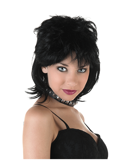 rock and roll wig - 80s Rocker Halloween Costume