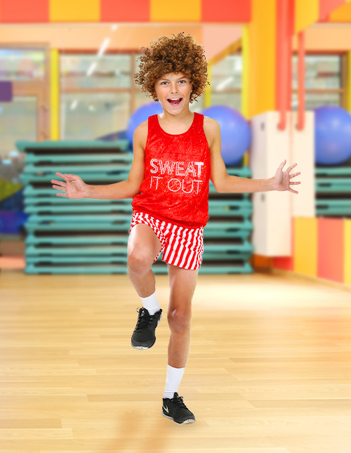 Kid's 80s Workout Star Costume