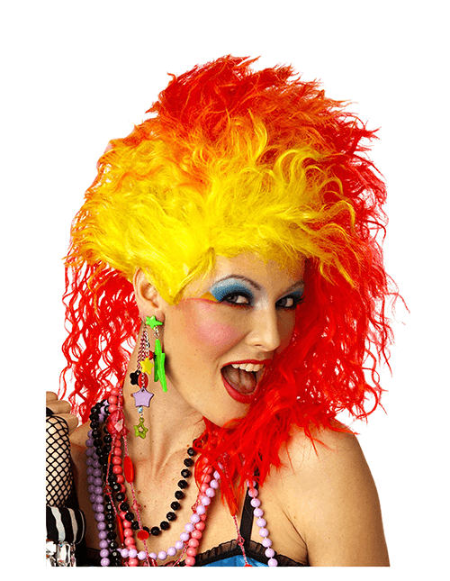 True Colors Wig  sc 1 st  Halloween Costumes & 1980s Costumes u0026 Outfits for Adults and Kids