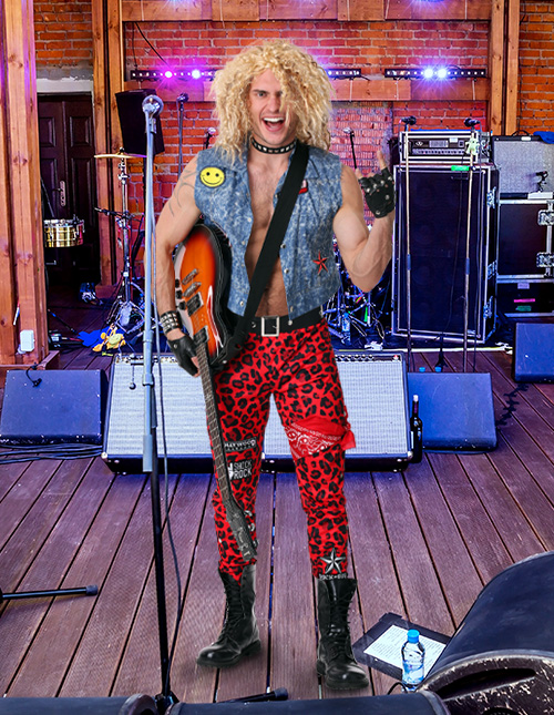 80s Rocker Costume
