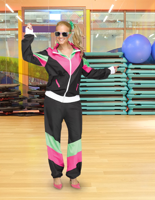 80s Tracksuit Womens