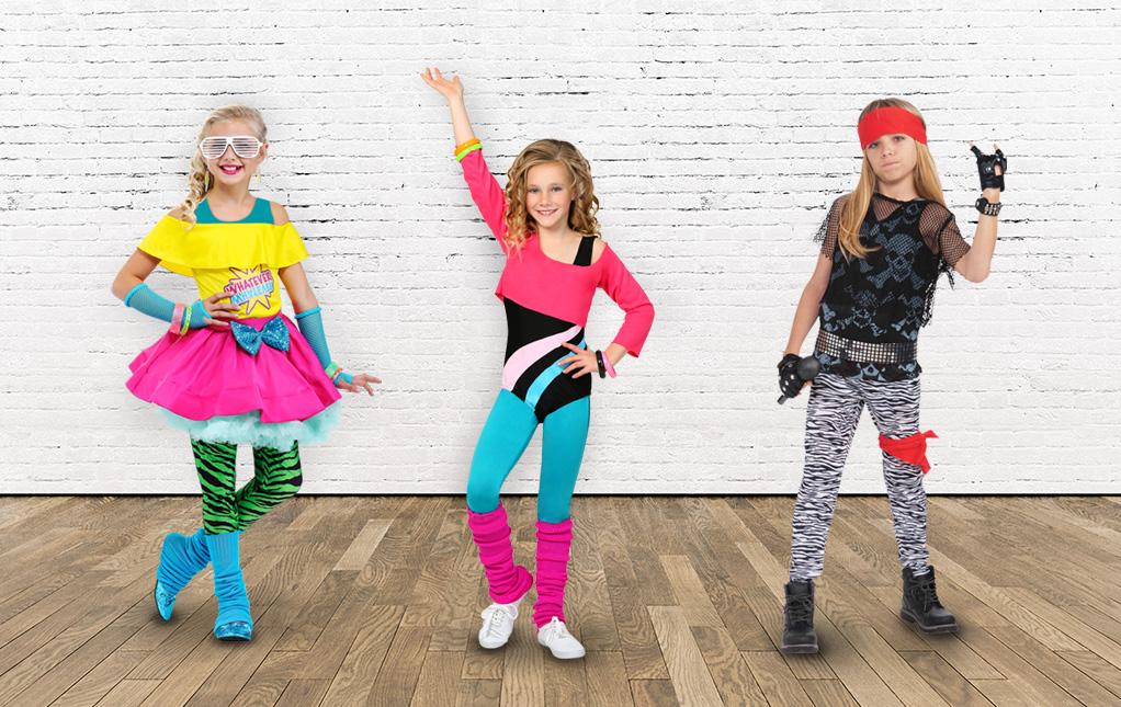 Kids 80s Costumes