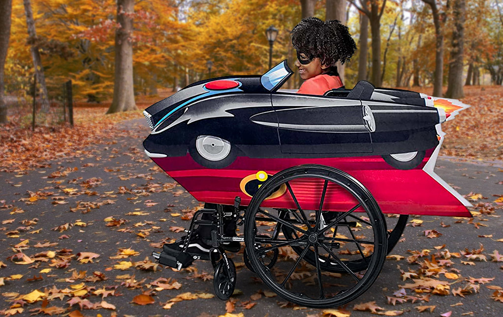 The Incredibles Wheelchair Adaptive Costume