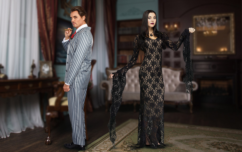 Addams Family Cosplay