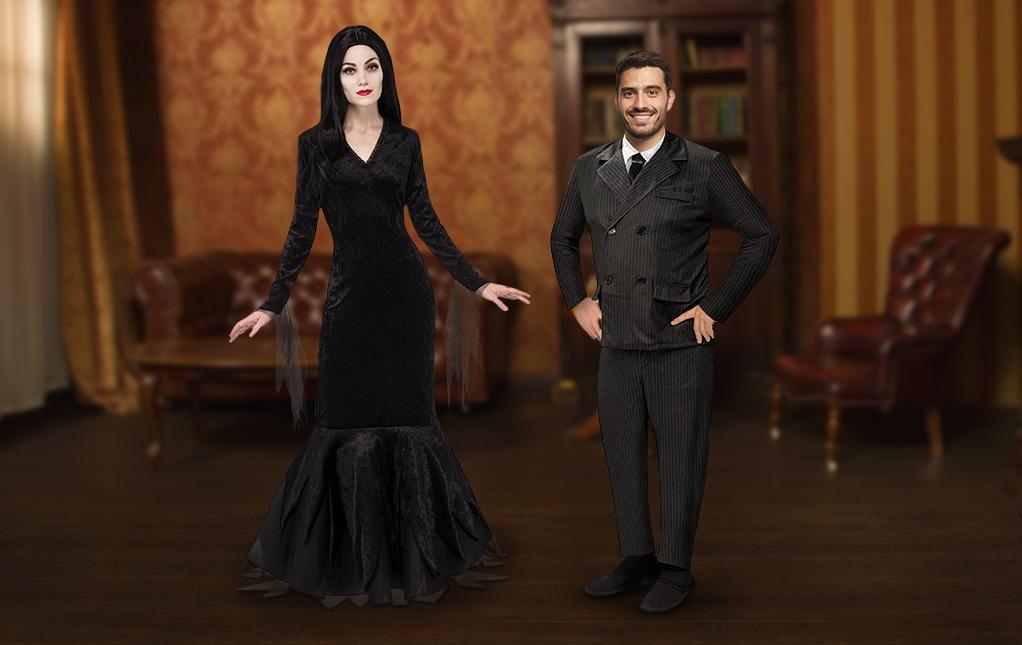 Morticia and Gomez Costume