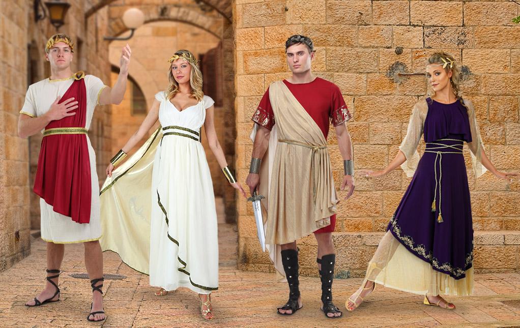 Goddess And Toga Costumes
