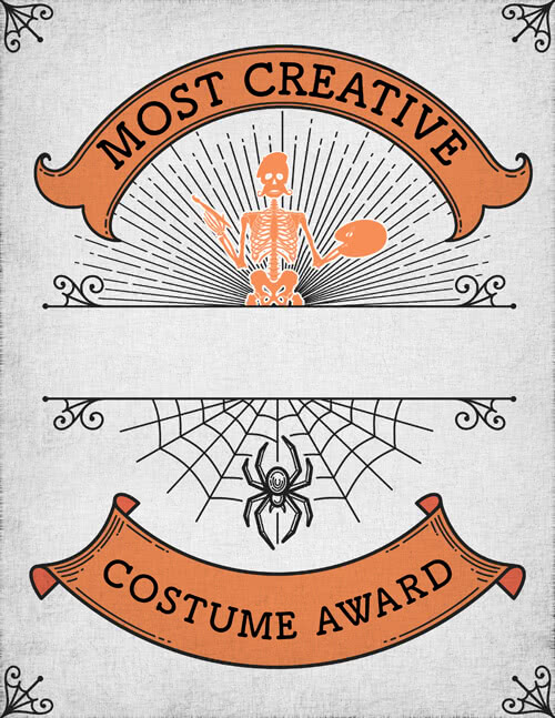 Most Creative Certificate