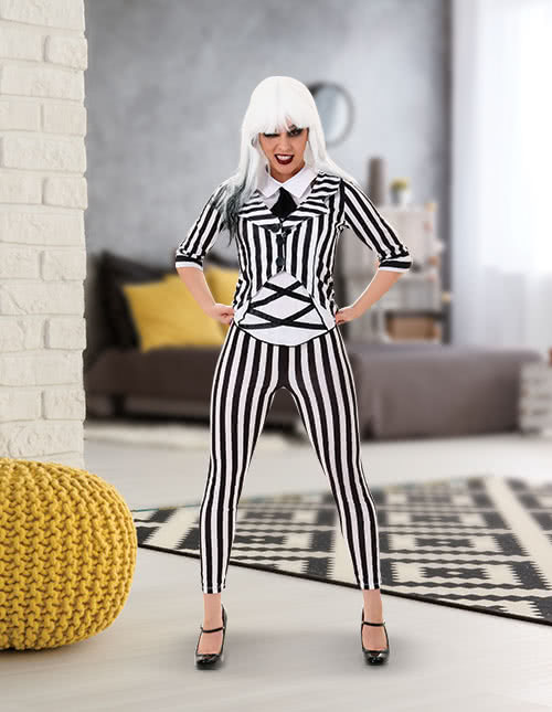 Beetlejuice Costume Cosplay Idea