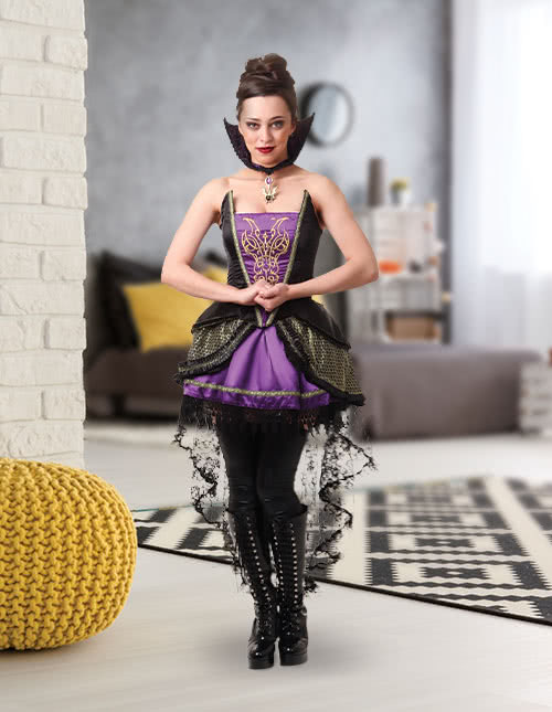 Evil Queen Costume Cosplay Idea
