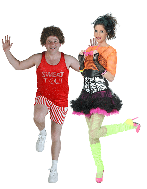 Adult Halloween Costumes Adults 80 Party Baby Dancer Costume