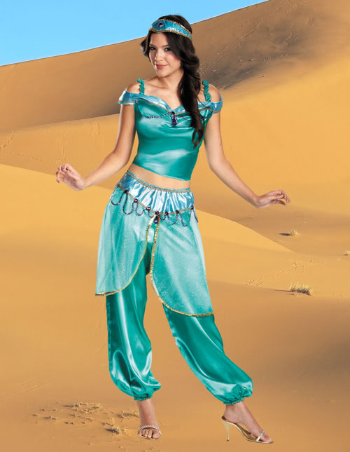 Sexy adult princess jasmine costume