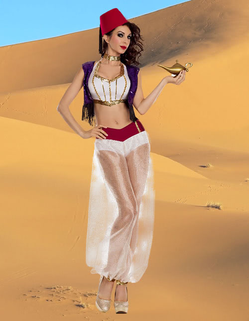 Women's Aladddin Costume