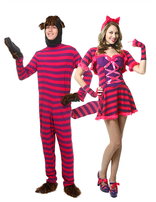 Cheshire Cat Couples Costume Pose