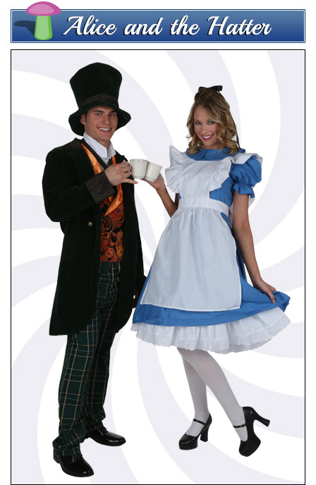 Alice and the Mad Hatter Couples Costume