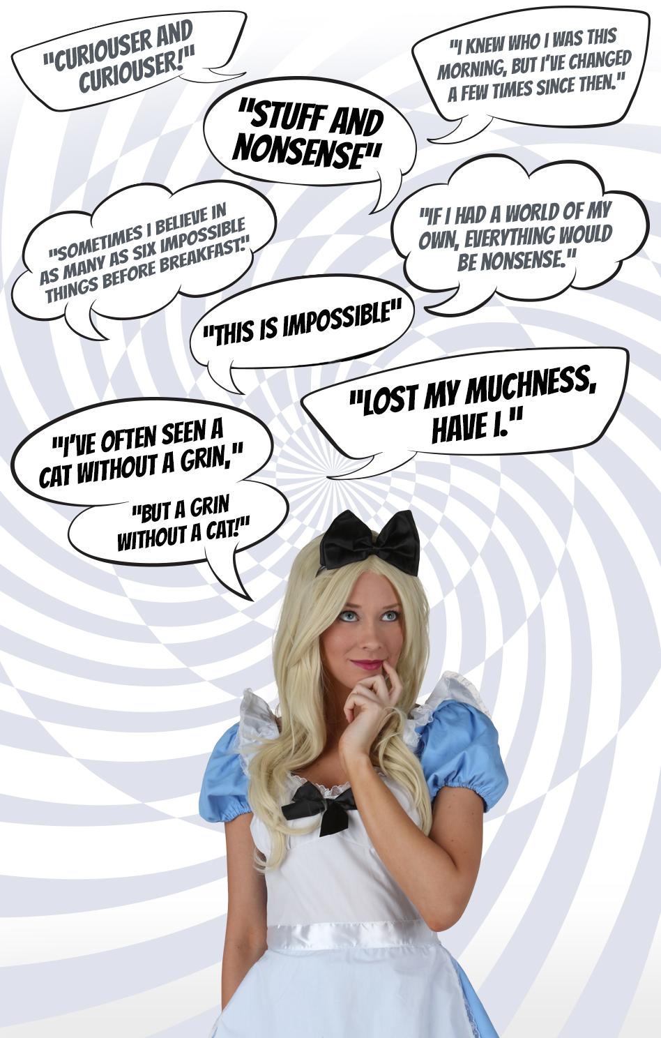 Alice Quotes Alice in Wonderland