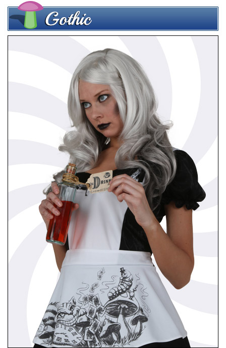 Goth Alice in Wonderland Costume