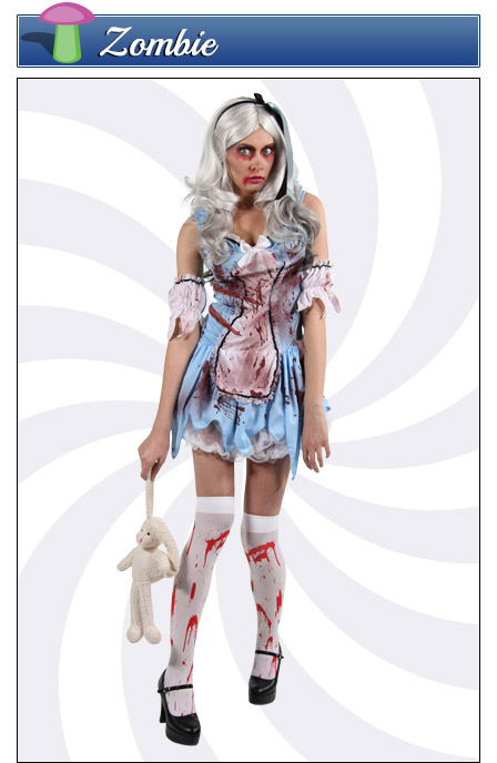 Zombie Alice in Wonderland Costume