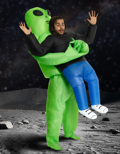 Inflatable Alien Costume
