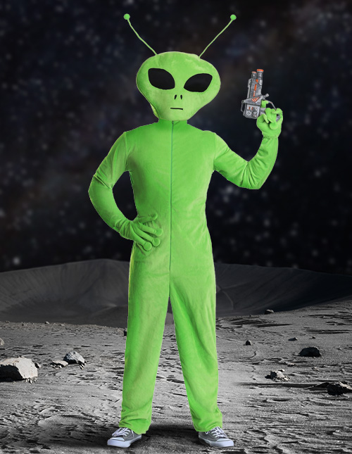 Plush Alien Costume